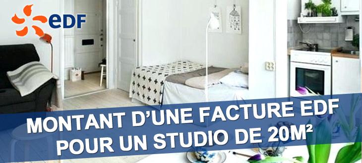 facture edf studio 20m quelle facture mensuelle en 2019. Black Bedroom Furniture Sets. Home Design Ideas