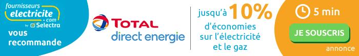Jusqu'à 7% de réduction sur les factures d'énergie avec l'offre Classique de Direct Energie
