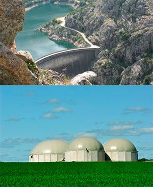 barrage methane