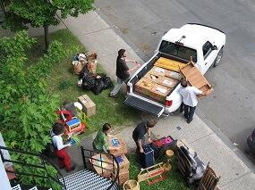 Pick-up pour déménagement