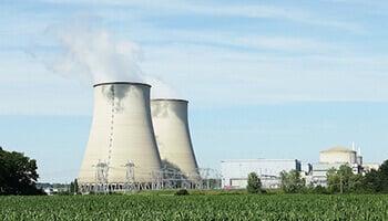 Production d'énergie nucléaire.