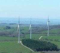 Parc éolien du groupe UEM