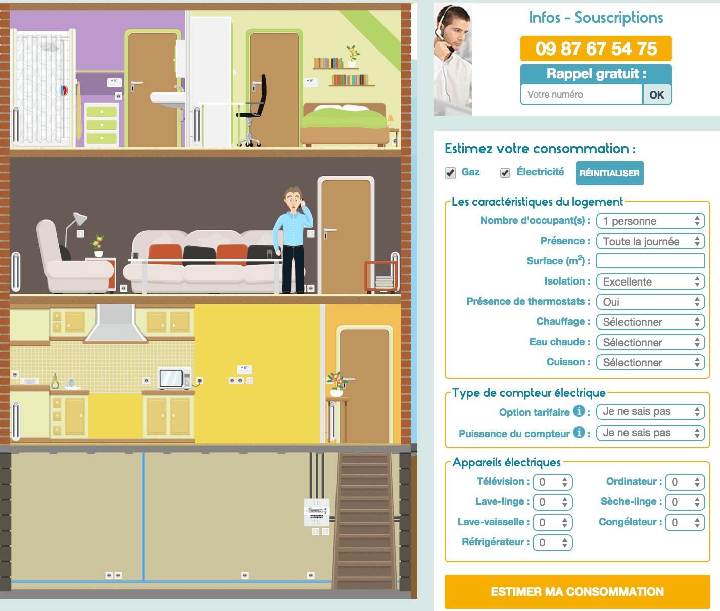 comment bien estimer sa facture de gaz naturel. Black Bedroom Furniture Sets. Home Design Ideas