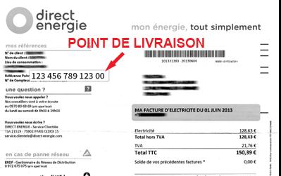 Pdl Edf Trouver Le Numero Point De Livraison Du Compteur