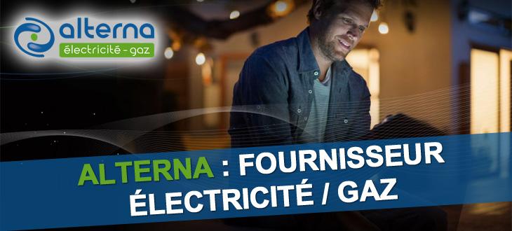Alterna, fournisseur électricité et gaz