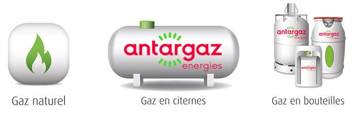 Fourniture d'électricité, gaz butane et propane