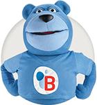Ours Bleu de la boutique Butagaz