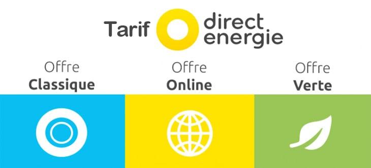 Tarif Direct Energie