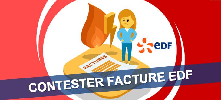 Contester facture EDF