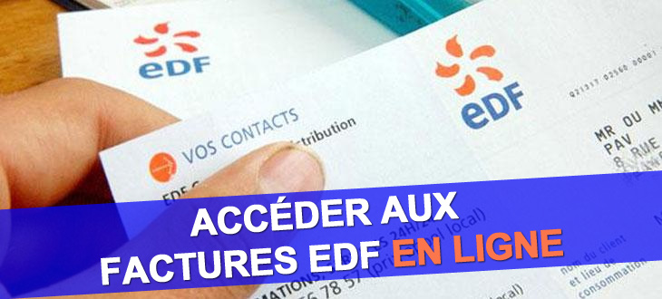 facture edf en ligne accès aux factures électricité et gaz