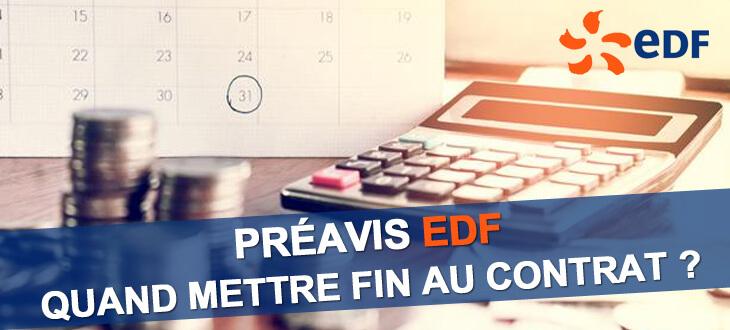Préavis EDF