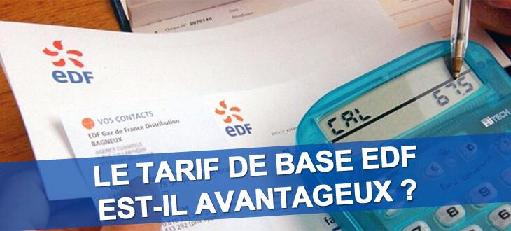 Tarif de base EDF