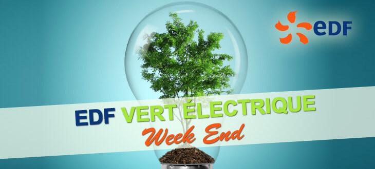 EDF Vert Electrique Week End