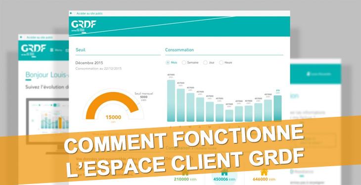 GRDF espace client / GRDF mon compte