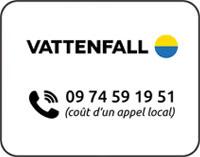 Vattenfall téléphone