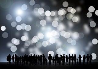Un groupe de personnes