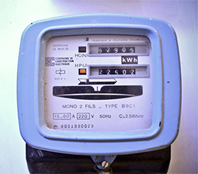 Ancien Compteur électrique