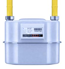 Compteur gaz classique