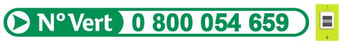 Numéro vert Linky Enedis