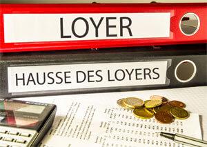 Hausse des loyers