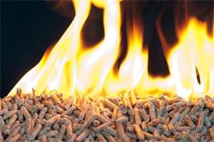 Insert cheminée pellets granulés de bois