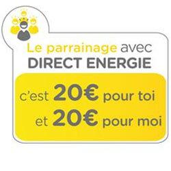 Offre parrainage Direct Energie