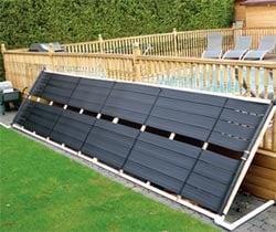 Panneau solaire piscine