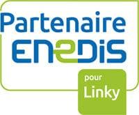Logo Partenaire Enedis pour Linky