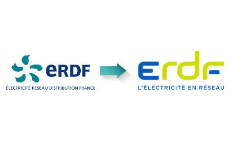 Logos successifs d'ERDF
