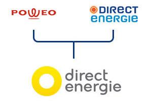 fusion Direct Energie / Poweo