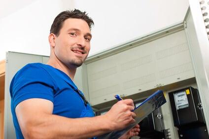 Technicien compteur électrique