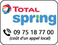 Téléphone pour la souscription Total Spring